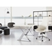 Bedford Modern High Back Office Chair in White