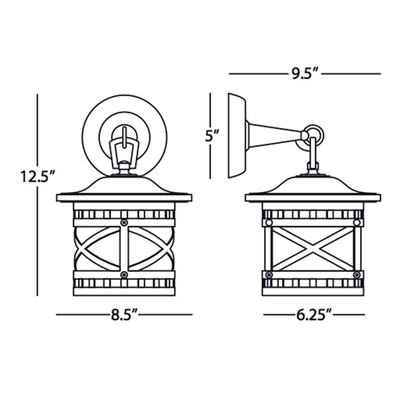 Belmont Outdoor Wall Sconce