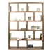 Berlin 5 Levels 150 CM Walnut Contemporary Bookcase Storage