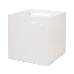 Berlin White Contemporary Box by TemaHome