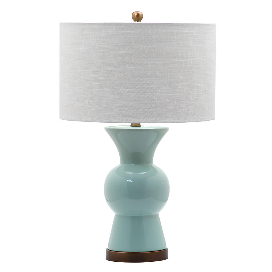 Berta Blue Contemporary Table Lamp