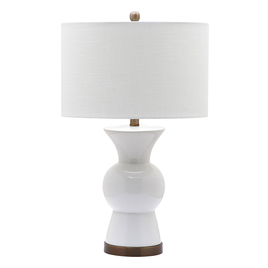Berta White Contemporary Table Lamp