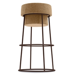 Beth Rust Modern Counter Stool by Domitalia