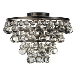 Bling Flush Mount Ceiling Lamp by Robert Abbey