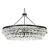 Bling Contmeporary Large Chandelier by Robert Abbey