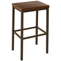 Bradley Bar Stool by Amsico