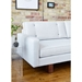 Bradley Contemporary Sofa by Gus* Modern in Cambie Parchment