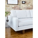 Bradley Contemporary Sofa by Gus* Modern in Cambie Parchment Fabric Upholstery