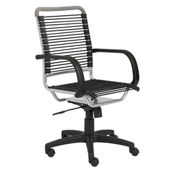 Bungie High Back Silver Bungie Office Chair
