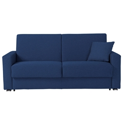 Breeze Full Size Modern Sleeper Sofa in Blue by Pezzan