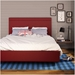 Breeze Upholstered Bed by Amisco in Flame
