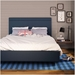 Breeze Upholstered Bed by Amisco in River