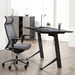 Cairns Modern Sit-to-Stand Gray Ash Desk