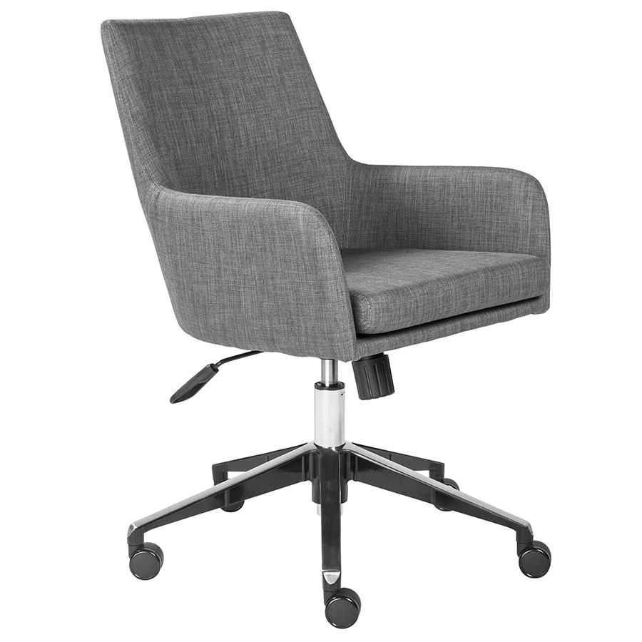 Clayton Modern Gray Office Chair