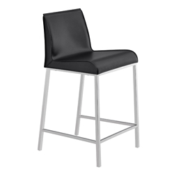 Cam Modern Counter Stool in Black