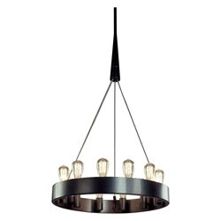Candelaria Contemporary Hanging Lamp by Robert Abbey