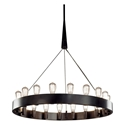 Candelaria Large Contemporary Hanging Lamp by Robert Abbey