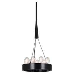Candelaria Small Contemporary Hanging Lamp by Robert Abbey