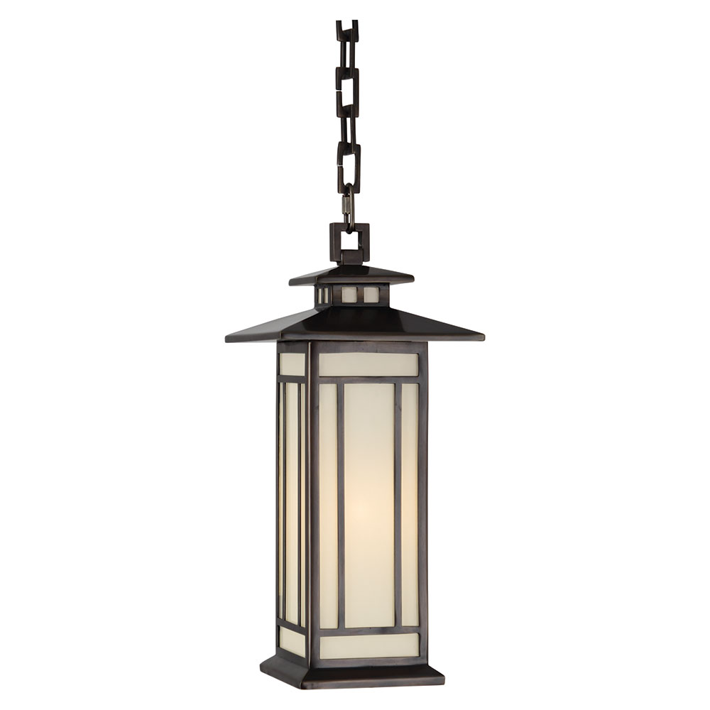 Outdoor hanging lamp - Candler Outdoor Contemporary Hanging Lamp