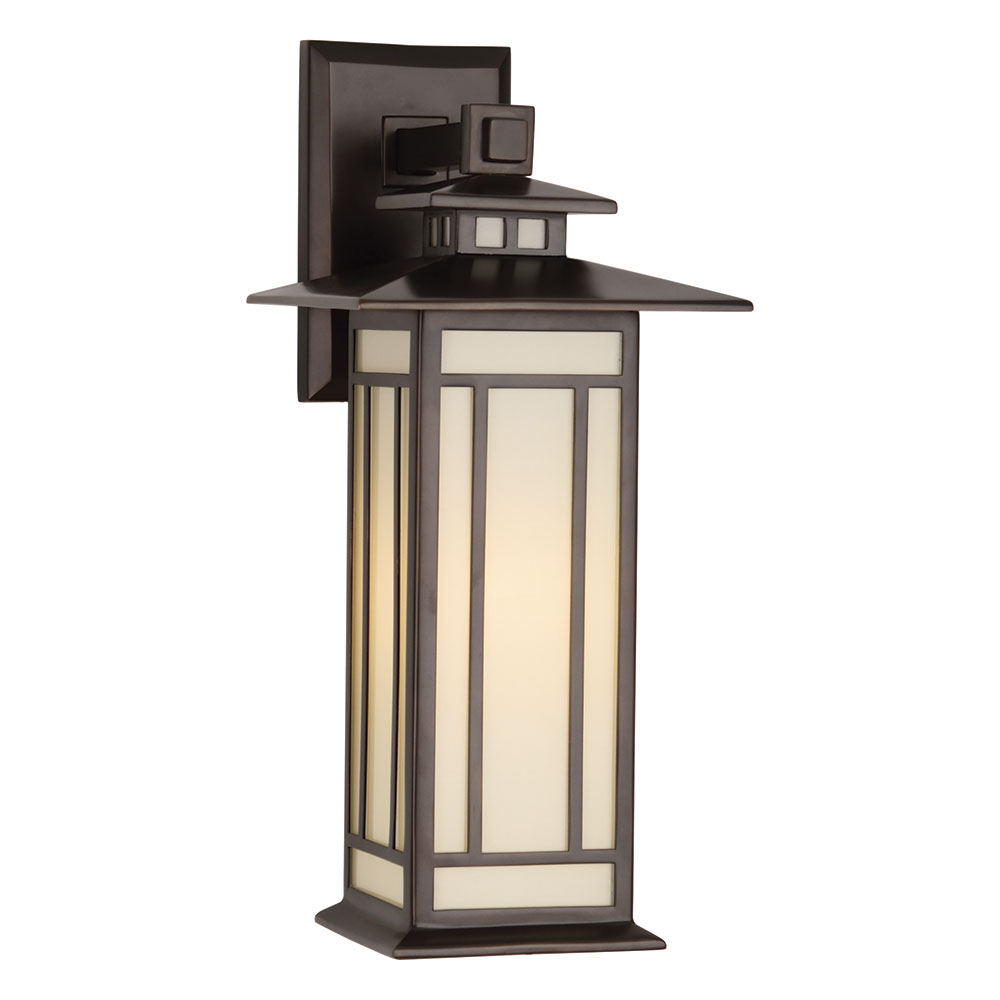 Candler Outdoor Wall Sconce | Contemporary Wall Sconce ... on Outdoor Wall Sconce Lighting id=36978