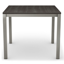 Carbon Modern Wood Dining Table by Amisco