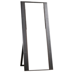 carmel contemporary floor mirror