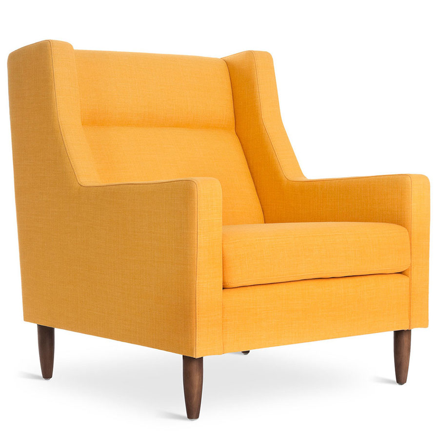 Gus Modern Carmichael Laurentian Citrine Chair Eurway