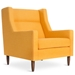 Carmichael Contemporary Lounge Chair in Laurentian Citrine