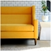 Carmichael Contemporary Loft Sofa in Laurentian Citrine - Lifestyle
