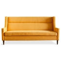 Carmichael Contemporary Loft Sofa in Laurentian Citrine
