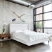 Gus* Modern Carmichael Contemporary Bed in Cambie Parchment