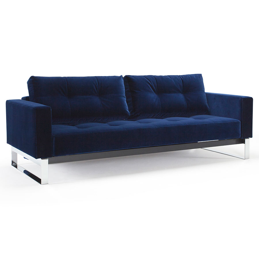cowboy zuo in boost conic product sleeper home blue shadow sofa grid