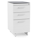 BDI Centro 3 Drawer Contemporary File