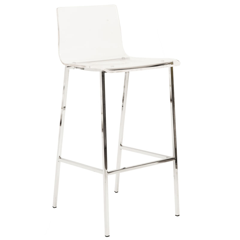 Chloe Acrylic Bar Stool