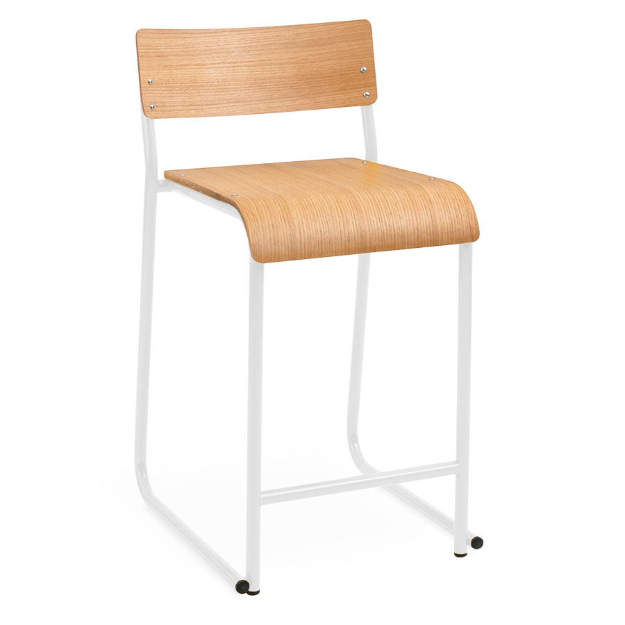 Gus Modern Church Counter Stool White Oak Eurway