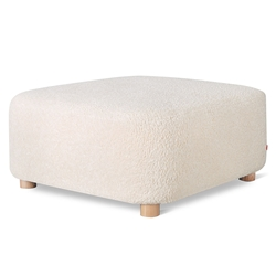 Gus* Modern Circuit Moular Ottoman in Himalaya Cloud Fabric