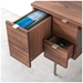 Modern Conrad Desk with File Drawer by Gus Modern