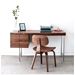 Conrad Home Office Desk in Walnut by Gus Modern