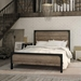 Amisco Cordoba Bed in Black Coral + Sand Dust Finishes