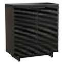 BDI Corridor Modern Bar Cabinet in Charcoal