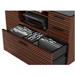 BDI Corridor Chocolate Stained Walnut Modern Office Cabinet