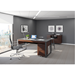 BDI Corridor Chocolate Stained Walnut Contemporary Office Furniture