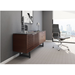 BDI Corridor Chocolate Stained Walnut Modern Office Credenza