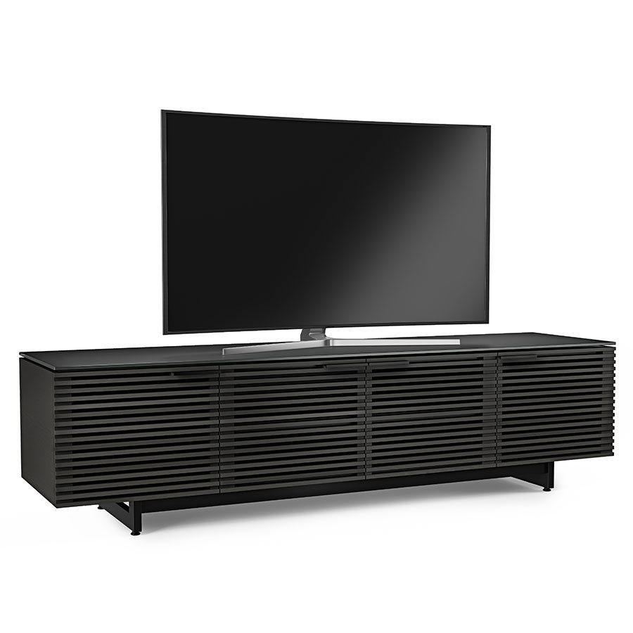 Corridor Charcoal Low Contemporary TV Stand by BDI