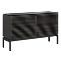 BDi Corridor SV 7128 Charcoal Stained Ash Modern Media Console