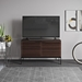 BDi Corridor SV 7128 Chocolate Stained Walnut Modern Media Console - Lifestyle
