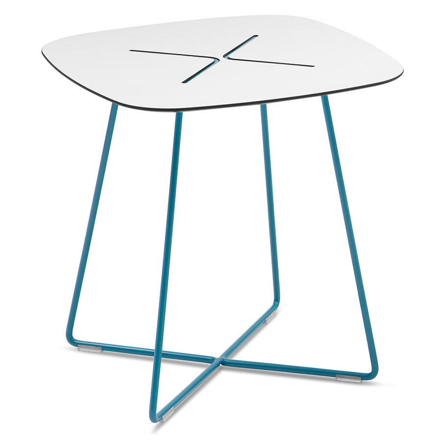Craig Turquoise Modern End Table