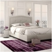 Crocus Upholstered Bed by Amisco in Sleet