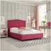 Crocus Full Bed by Amisco in Blush