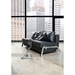 Cubed Black Full Size Modern Sleeper Sofa